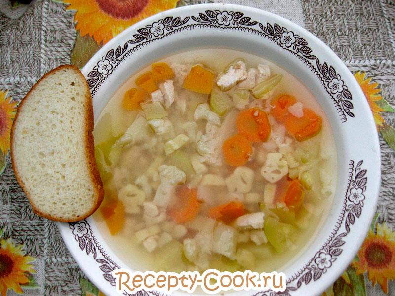 детский овощной суп