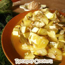 Кабачки в медовом соусе. Заготовка на зиму