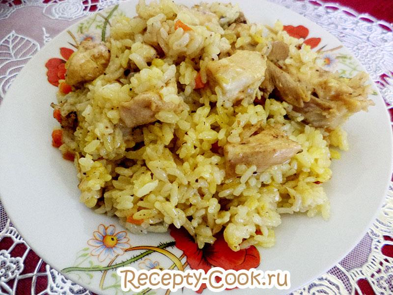 плов с курицей рецепт пошагово