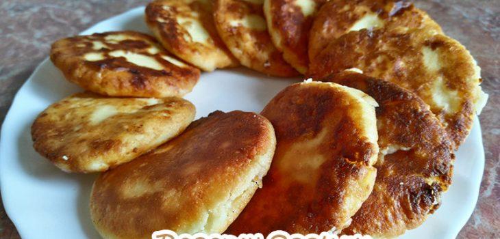Классический рецепт нежных сырников с изюмом