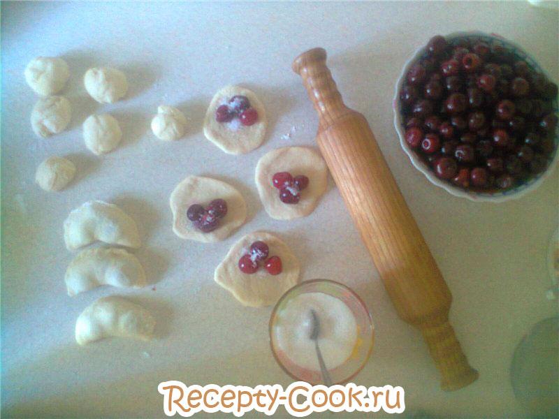 Вареник с вишней рецепт пошагово