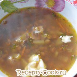 Рецепт супа с чечевицей