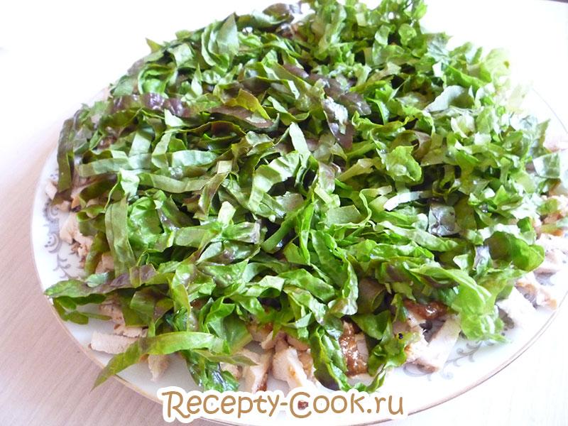 слоеный салат фото
