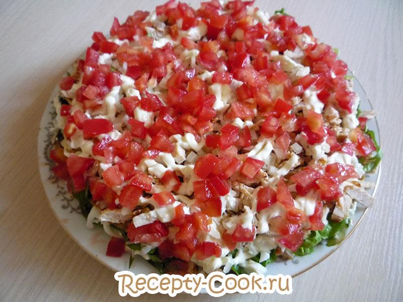вкусные слоеные салаты рецепты