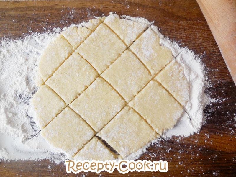 как раскатывать тесто для печенья с кокосовой стружкой