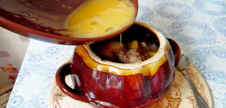 Говядина в горшочке