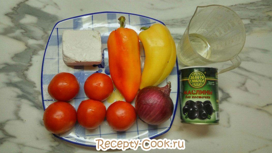 классический салат греческий