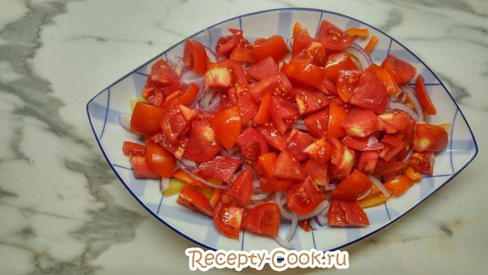 греческий салат классический фото