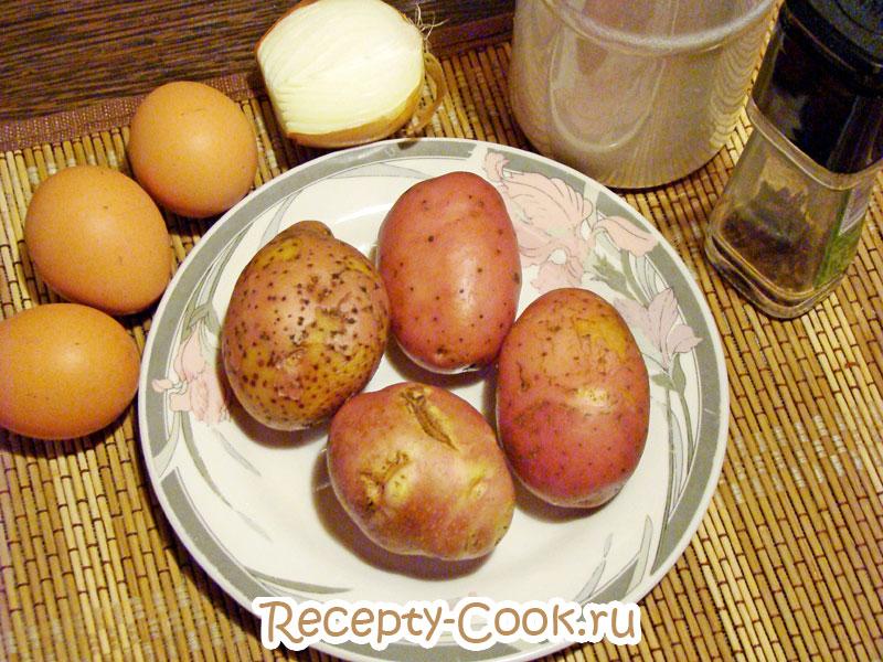 рецепт испанской картофельной тортильи