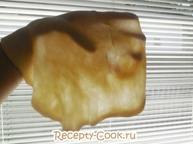 тесто для штруделя