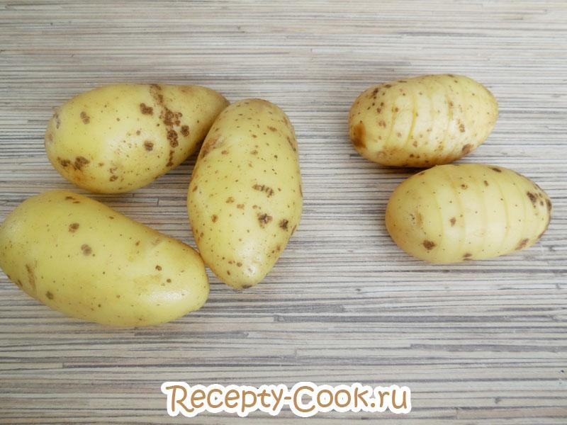 Как правильно нарезать картофель для запекания