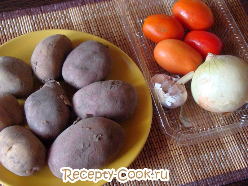 картофель в духовке по -португальски рецепт