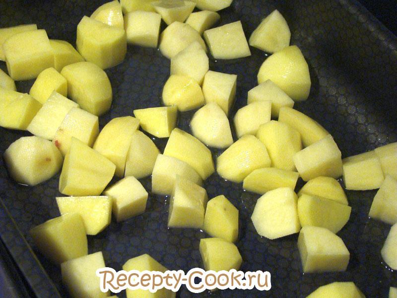 картофель запеченный в духовке по-португальски