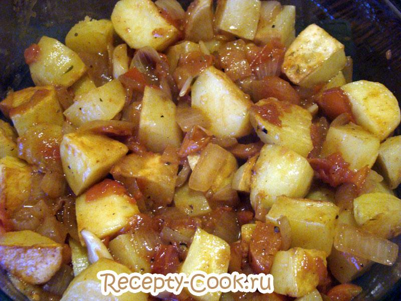 картофель в духовке по-португальски