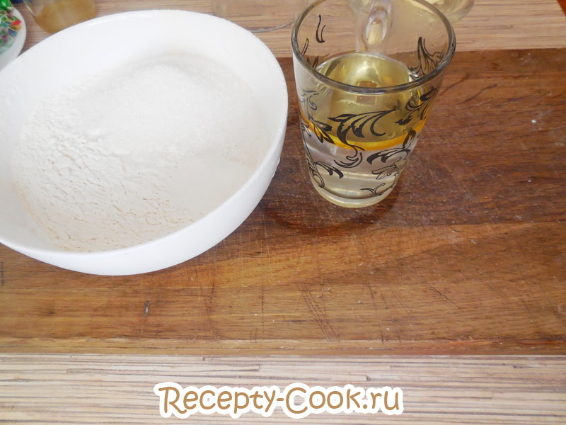 рецепт простого кекса без яиц