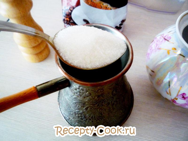 правильный кофе в турке