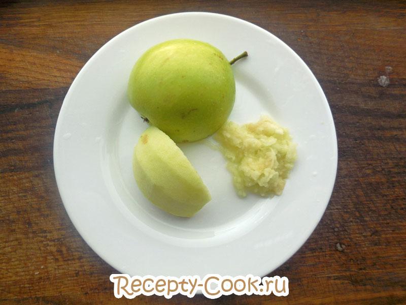 диетическое овсяное печенье с яблоками