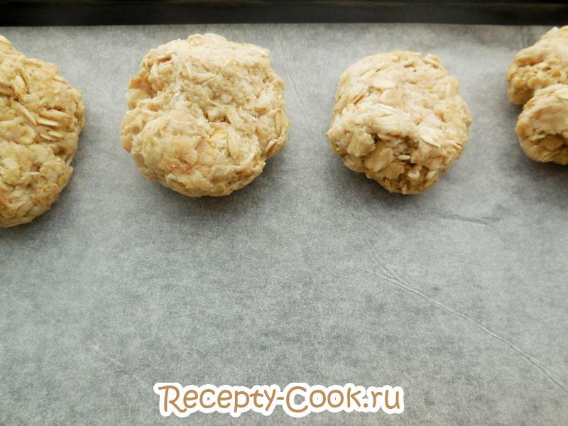 овсяное печенье с яблоками рецепт с фото