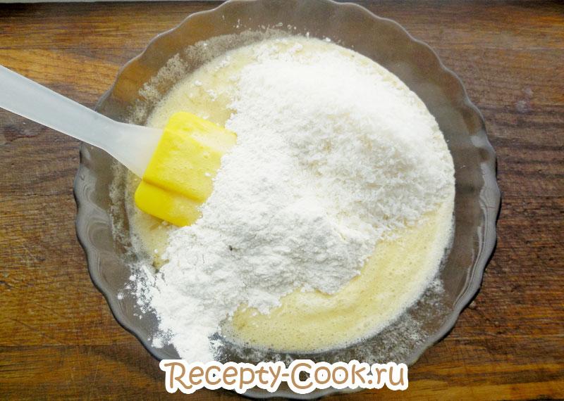 овсяное печенье с кокосовой стружкой рецепт