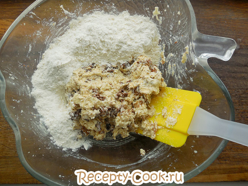 Рецепт овсяного печенья старбакс шаг 6