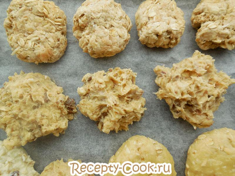 Рецепт овсяного печенья старбакс шаг 7