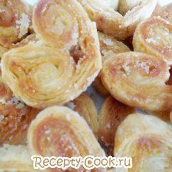 Слоеное печенье «Ушки»