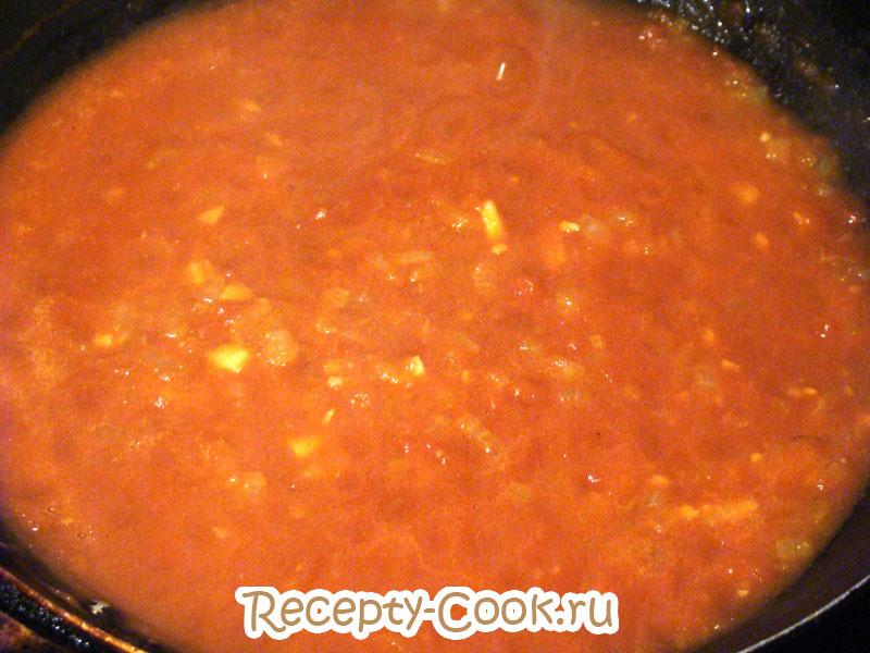 томатный соус с макаронами пенне