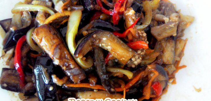 Салат корейский из баклажанов