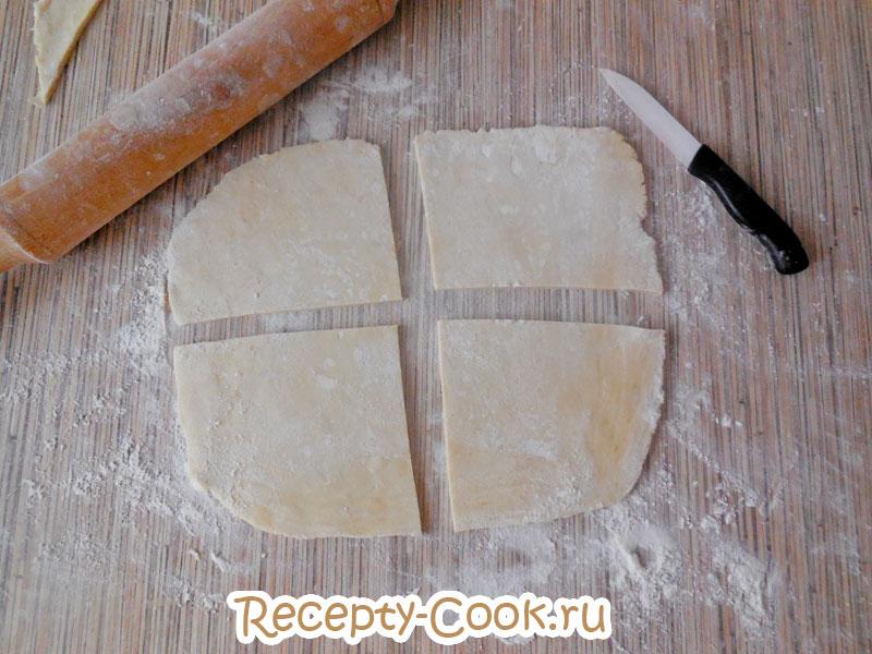слойки с яблоками рецепт