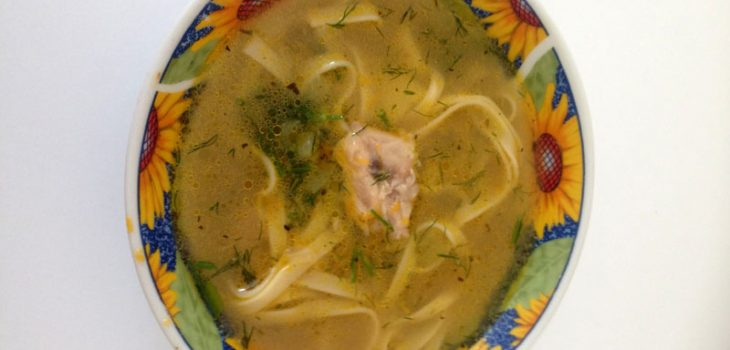 Суп-лапа домашняя