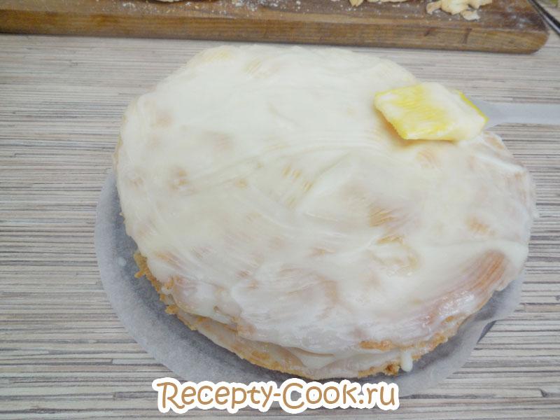 торт наполеон пошагово