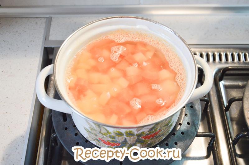 как приготовить овощной суп диетический