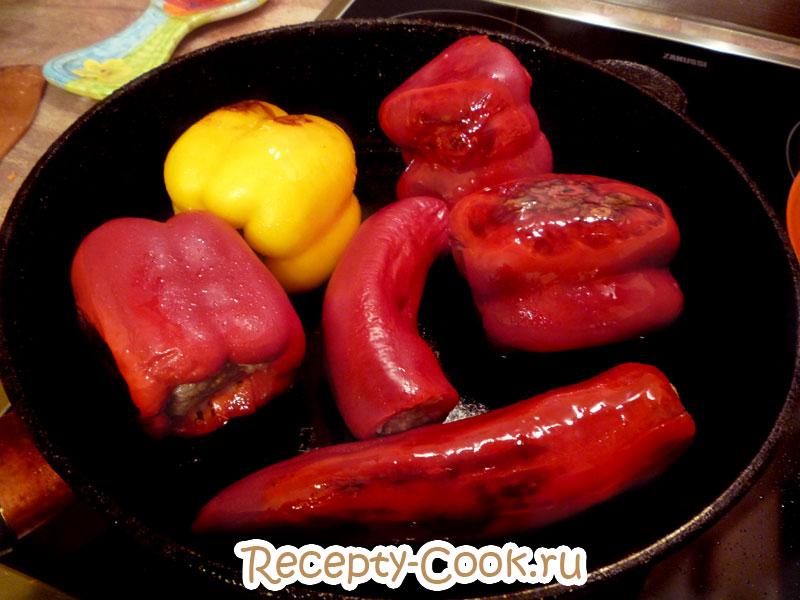 фаршированный перец рецепт в томатном соусе