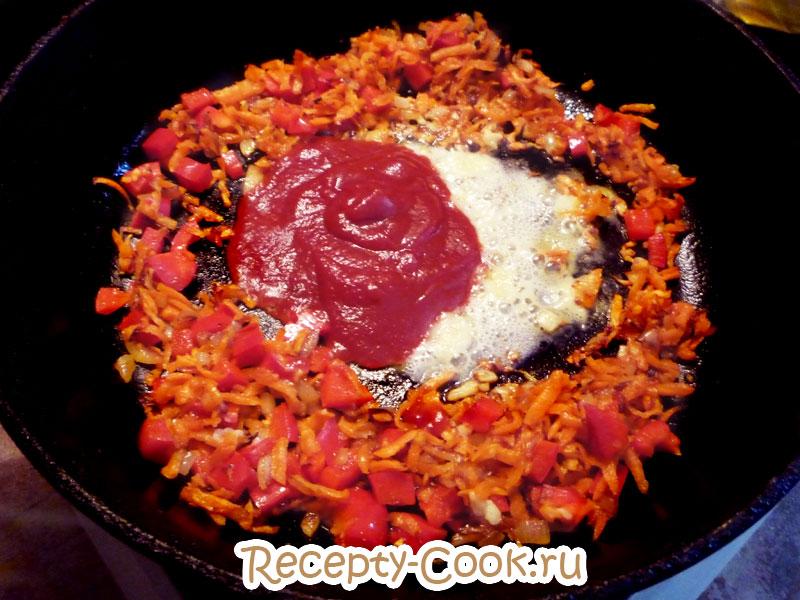 фасоль с овощами рецепты с фото