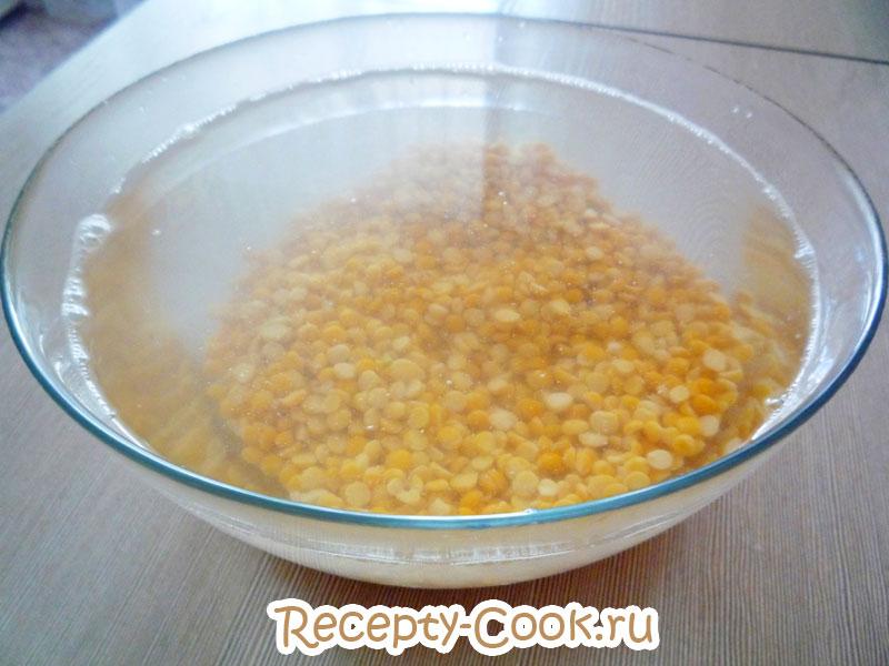 гороховая каша рецепт
