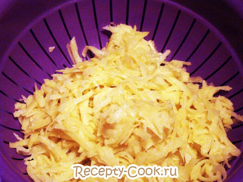 картофельные оладьи рецепт