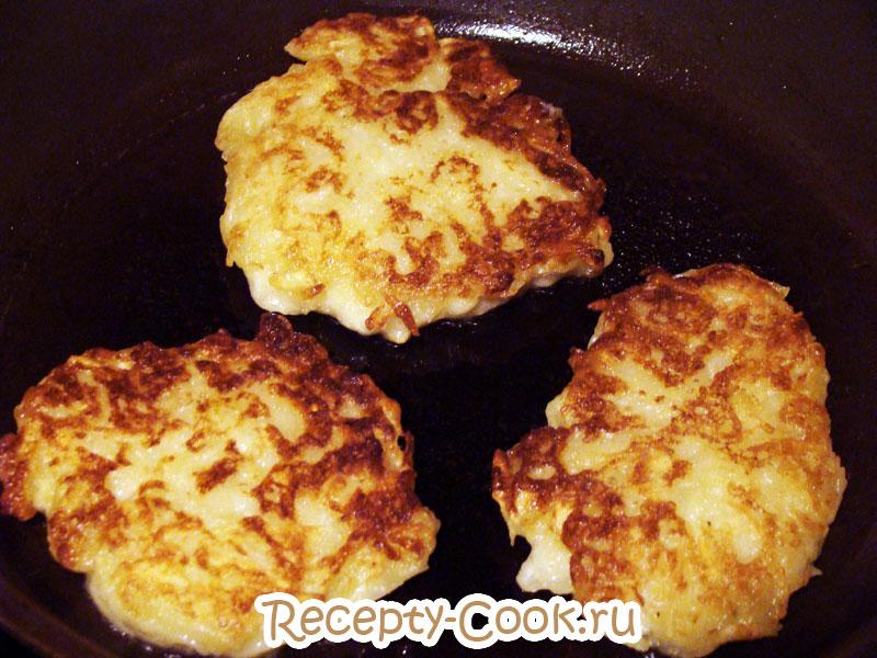 как приготовить картофельные оладьи