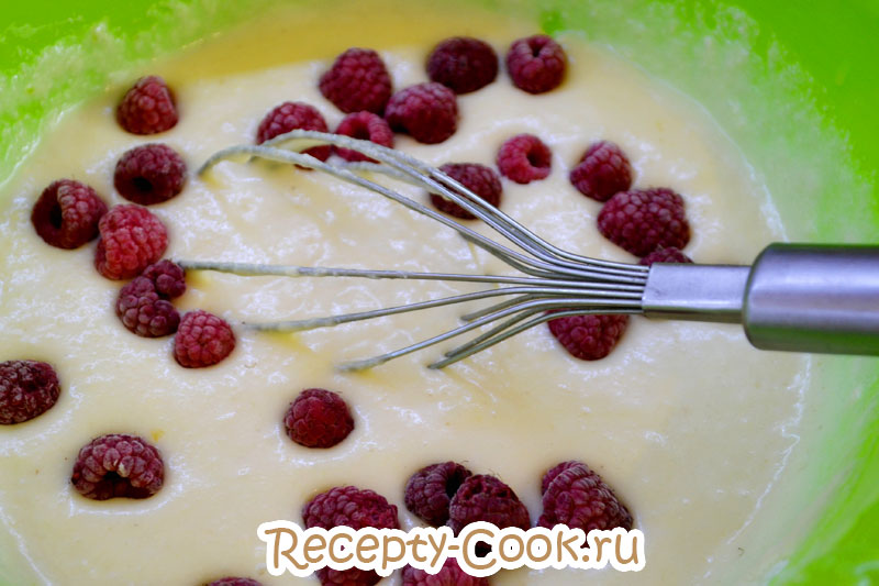 манник с ягодами рецепт с фото