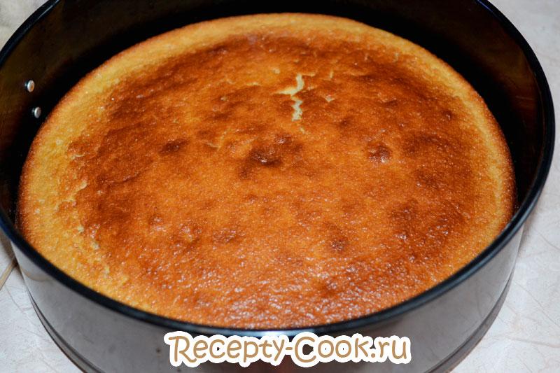 Рецепт манника на кефире с ягодами рецепт
