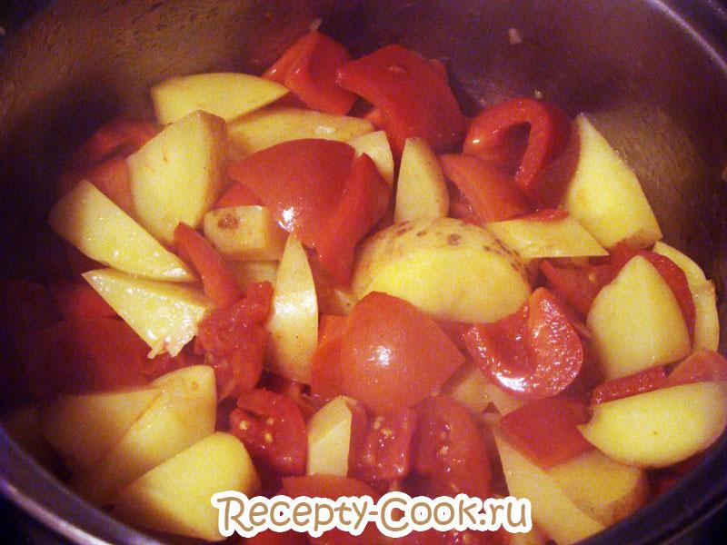 овощной суп с перцем