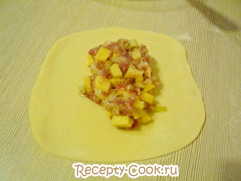 манты с картошкой рецепт с фото