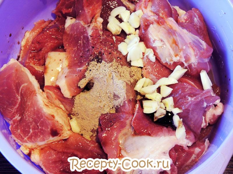 мясо в соевом соусе рецепт
