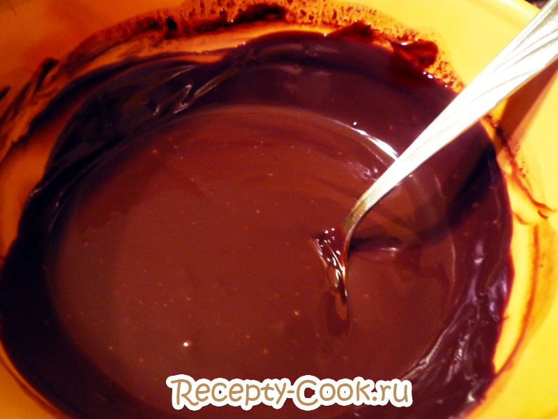 молочно шоколадный пудинг