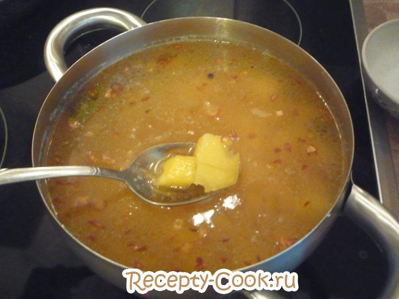 суп с рыбной консервой рецепт