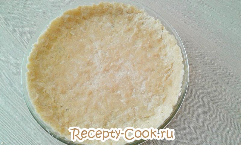 тарт с рисовой начинкой рецепт