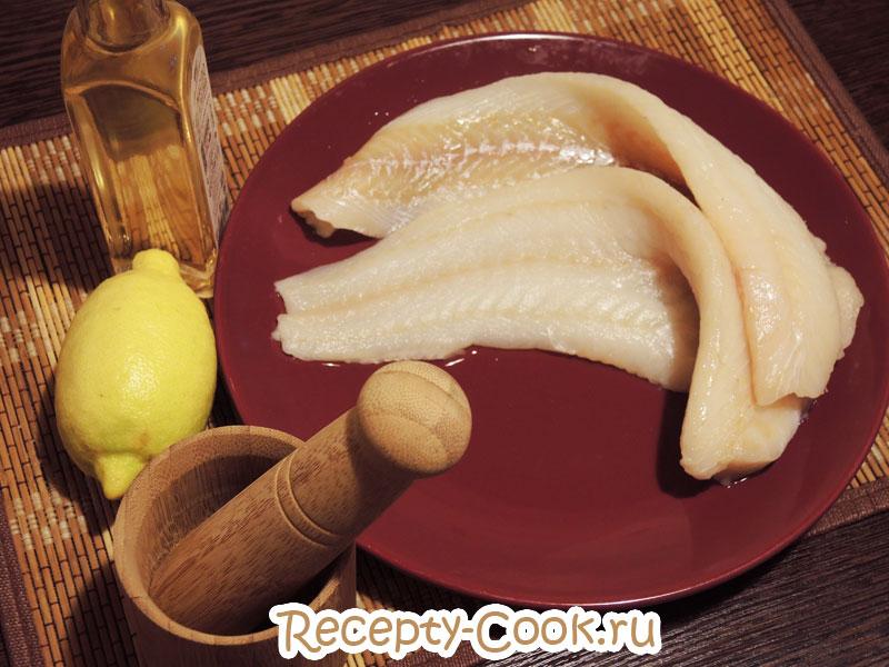 рецепт трески на сковороде