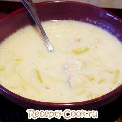 Английский сырный суп