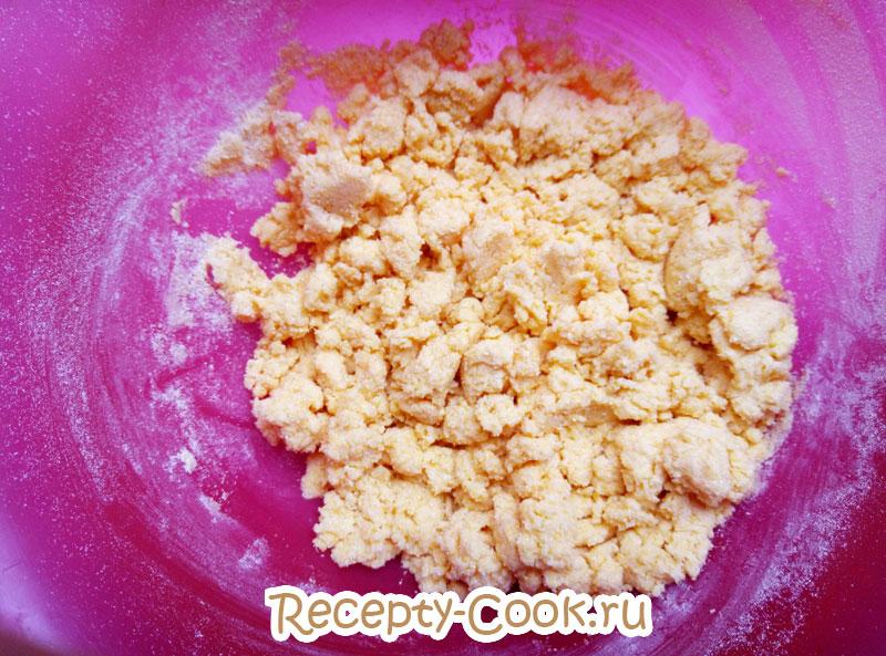 как приготовить кукурузное печенье