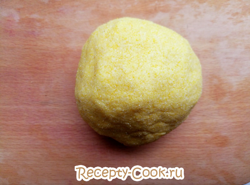 кукурузное печенье из кукурузной муки