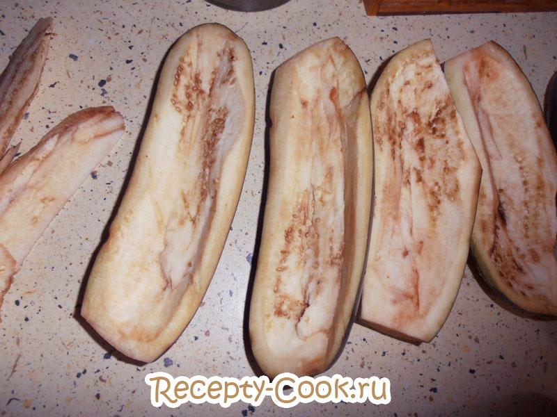 лодочки из баклажанов в духовке